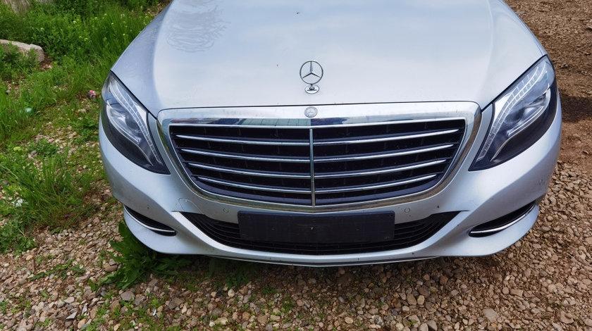 Bara fata cu grila completa Mercedes S350 cdi W222 4 matic an 2016