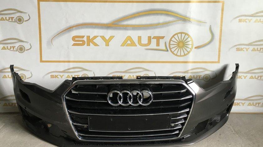 Bara fata + grila Audi A6 4G S-Line Facelift dupa 2014 cod 4G0807437
