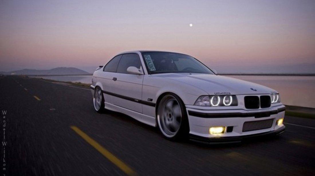 Bara fata M3 look BMW E36 completa cu proiectoare si splitere