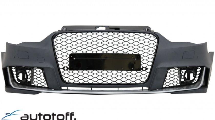 Bara Fata si Difuzor Bara Spate Audi A3 8V (2012-2015) Hatchback Sportback RS3 Design