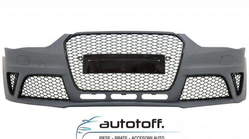 Bara Fata si Difuzor Bara Spate Audi A4 B8 Facelift (2012-2015) RS4 Design