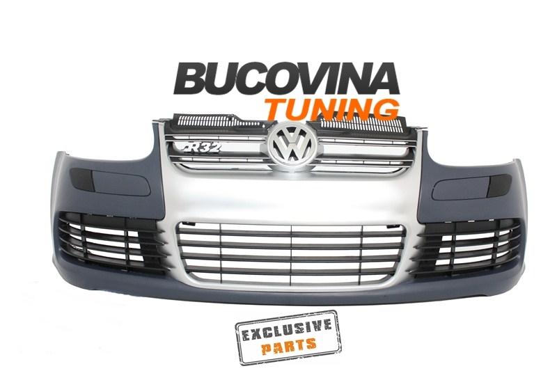 BARA FATA VW GOLF 5 R32 ALUMINIU LOOK
