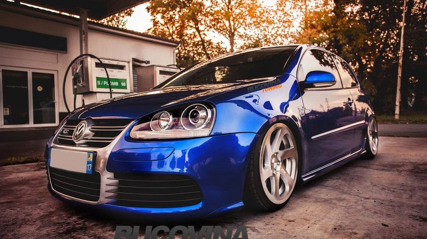 BARA FATA VW GOLF 5 R32 ALUMINIU LOOK