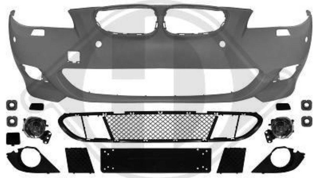 BARA PACHET M BMW SERIE 5 E60 - BARA FATA BMW E60 (CU PDC)