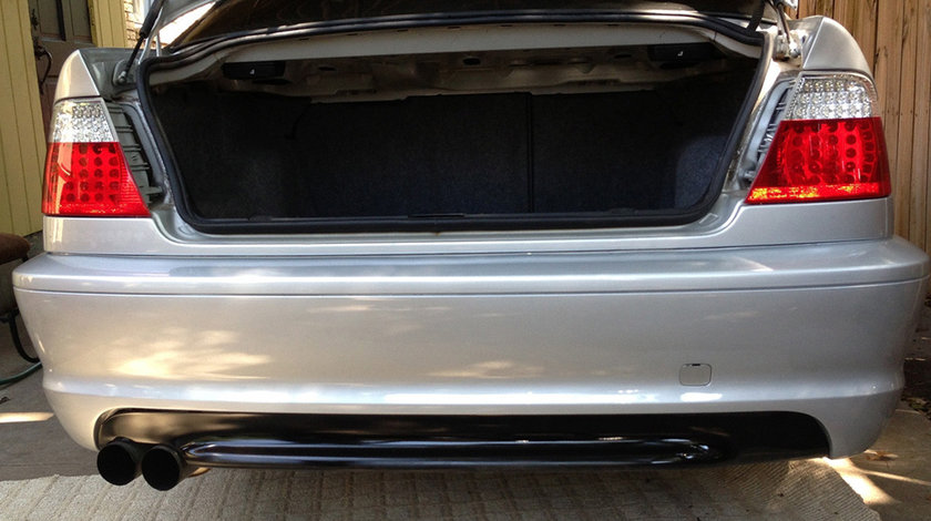 Bara spate BMW Seria 3 E46 Coupe/ Cabrio (99-05) M-Tech Design