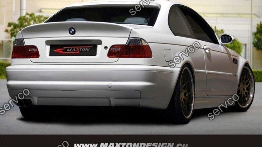 Bara spate BMW Seria 3 E46 replica Nissan R33 GTS GTR 1998-2007 v5