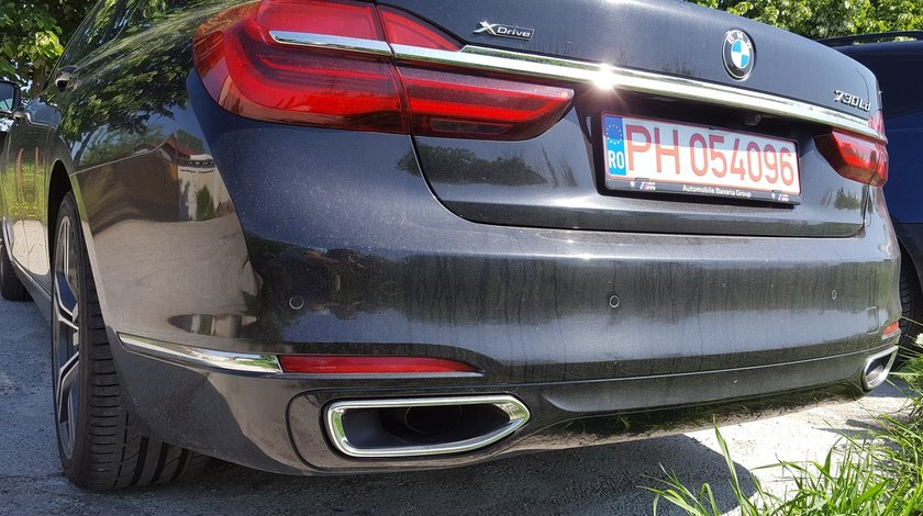 Bara Spate BMW Seria 7 G11 G12 2016