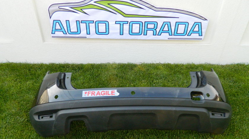 Bara spate Dacia Duster cu gauri senzori de parcare