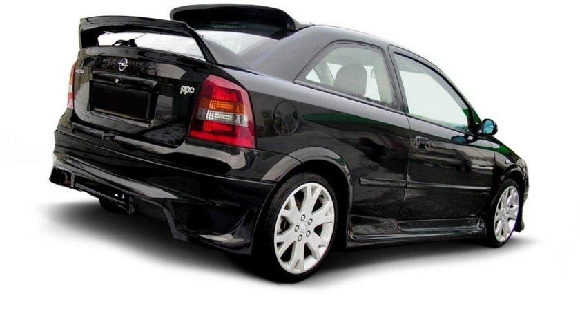 Bara spate Opel Astra G cu 3 / 5 usi Hatchback din fibra de sticla