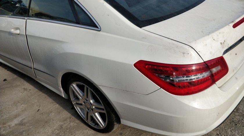 Bara spate pachet AMG Mercedes E Class coupe C207 2009 // 2013