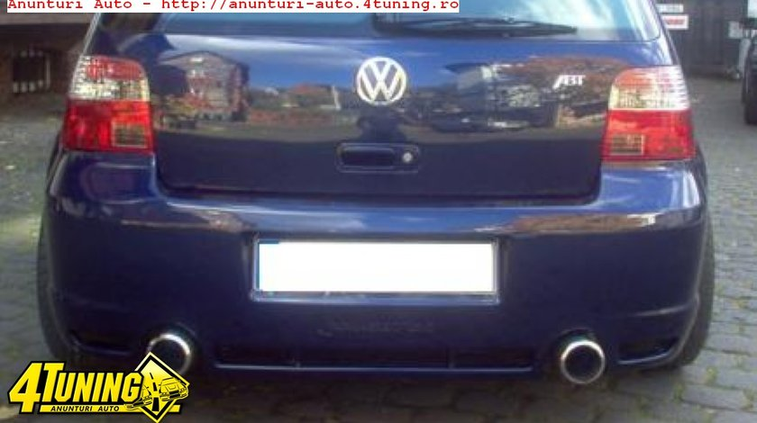 Bara spate VW Golf 4 model R32-Look din fibra de sticla