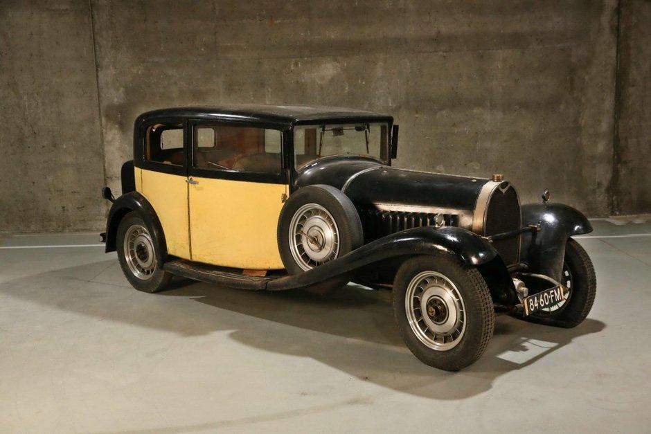 Barn find Bugatti