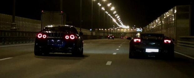 Batalia continua: Lamborghini Gallardo UGR vs. Nissan GT-R AMS Alpha 12