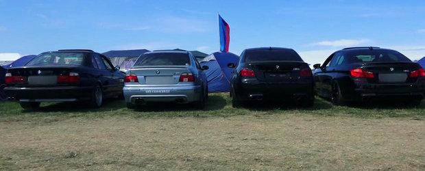 Batalia evacuarilor de BMW M5: E34 vs. E39 vs. E60 vs. F10