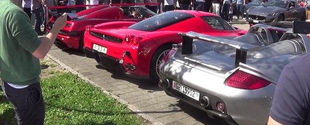 Batalia evacuarilor: K'segg Agera R vs Enzo Ferrari vs Porsche Carrera GT