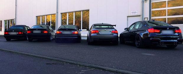 Batalia generatiilor BMW M3: Care suna cel mai bine?