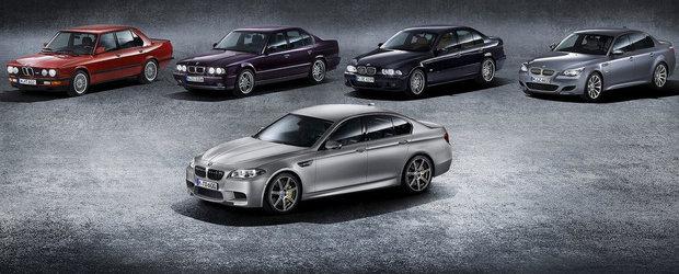 Batalia generatiilor BMW M5: Care suna cel mai bine?