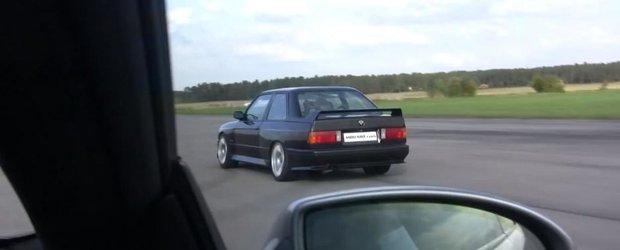 Batalia motoarelor V10: BMW M6 vs. BMW E30 Ursulet