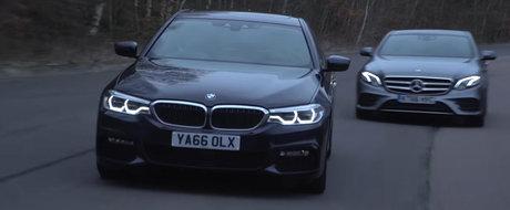 Batalia sedan-urilor de lux se da intre Mercedes si BMW. Cine castiga?