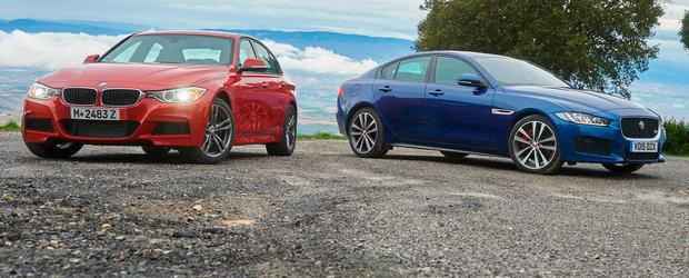 Batalia sedanurilor sport: BMW 335 si Jaguar XE S lupta pentru coroana segmentului