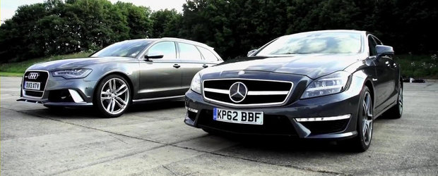 Batalia super-break-urilor: Audi RS6 Avant vs. Mercedes CLS63 AMG Shooting Brake