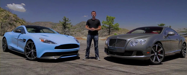 Batalia super-GT-urilor: Aston Martin Vanquish vs Bentley Continental GT Speed