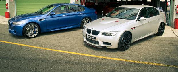 Batalia V8-urilor BMW: Care suna mai bine, M3 E92 sau M5 F10?