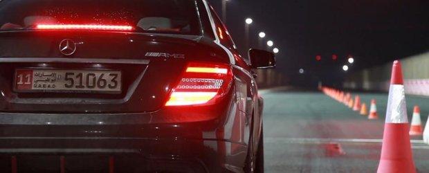 Batalie AMG cu cele mai tari modele Mercedes-Benz pe pista de drag