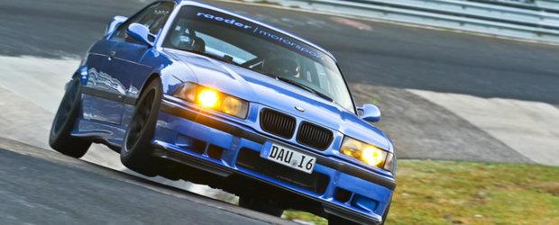 Bate record dupa record. Acesta este cel mai rapid BMW E36 de pe Nurburgring