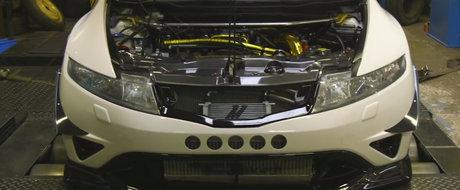 Bate un Lamborghini la capitolul putere, dar proprietarul vrea un nou tuning. Ce urmeaza pentru aceasta Honda Civic Type R