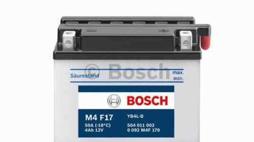 baterie acumulator APRILIA MOTORCYCLES AF-1 Producator BOSCH 0 092 M4F 170
