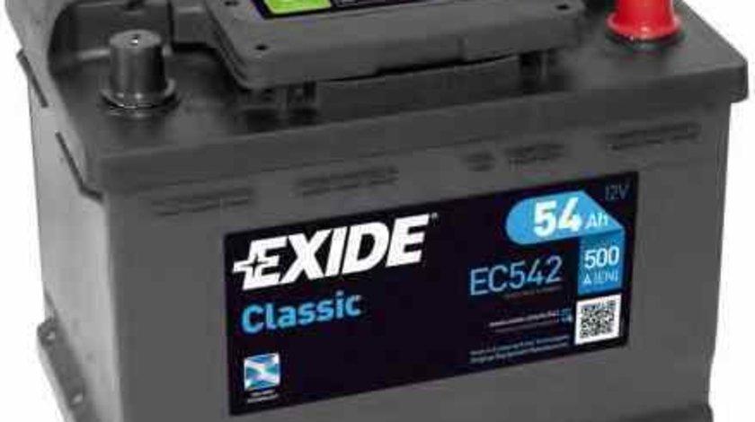 Baterie acumulator AUDI 80 8C B4 Producator EXIDE EC542