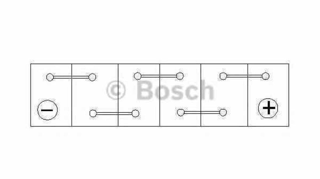 baterie acumulator AUDI A8 4H BOSCH 0 092 S5A 150