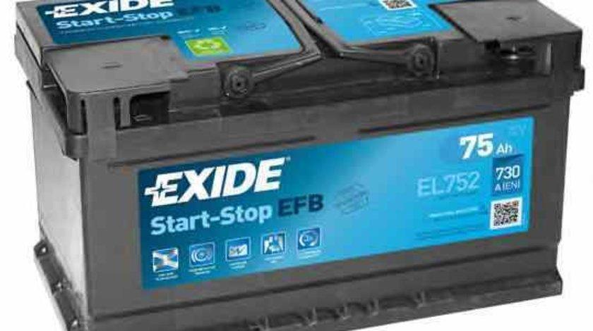 baterie acumulator FORD B-MAX EXIDE EL752