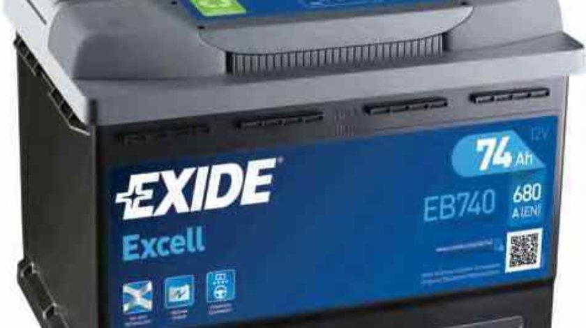 baterie acumulator MERCEDES-BENZ COUPE C123 Producator EXIDE EB740