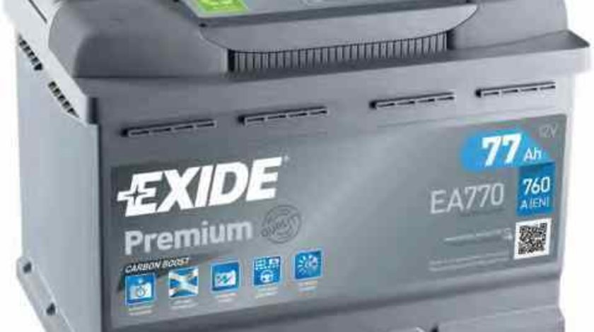 baterie acumulator MERCEDES-BENZ COUPE C124 Producator EXIDE EA770