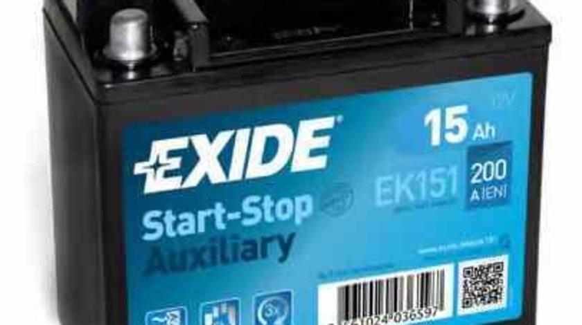 Baterie acumulator MERCEDES-BENZ GLE cupe C292 EXIDE EK131