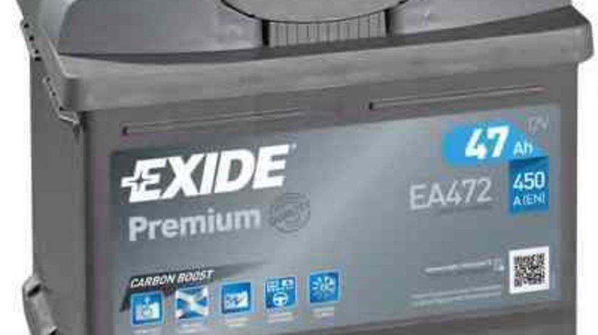 Baterie acumulator OPEL COMBO 71 Producator EXIDE EA472