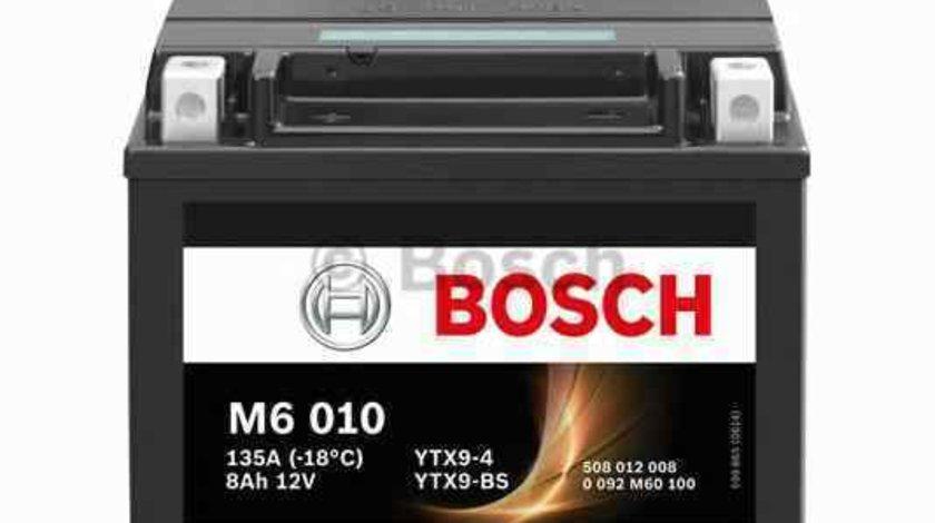 baterie acumulator YAMAHA MOTORCYCLES TT BOSCH 0 092 M60 100