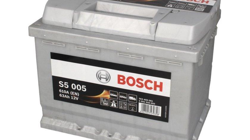Baterie bosch s5 63ah 610a