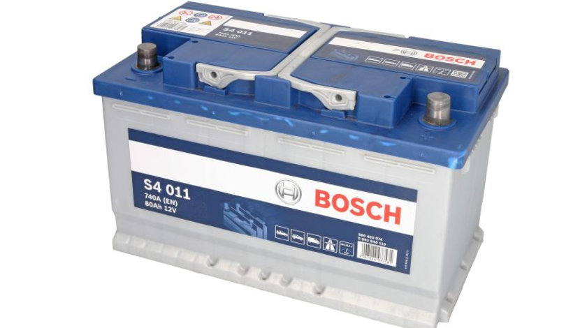 Baterie de pornire AUDI A4 Cabriolet (8H7, B6, 8HE, B7) (2002 - 2009) BOSCH 0 092 S40 110 piesa NOUA