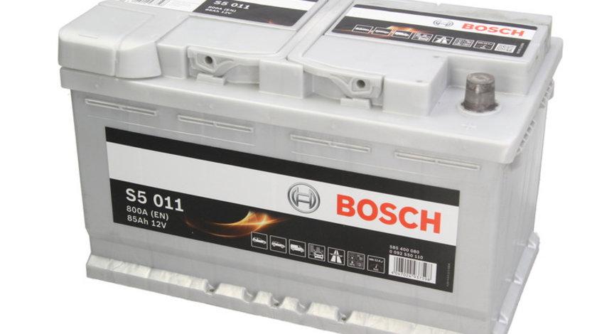 Baterie de pornire AUDI A4 Cabriolet (8H7, B6, 8HE, B7) (2002 - 2009) BOSCH 0 092 S50 110 piesa NOUA