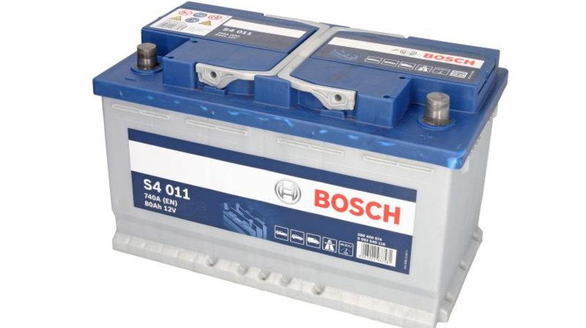 Baterie de pornire AUDI A5 Sportback (8TA) (2009 - 2016) BOSCH 0 092 S40 110 piesa NOUA