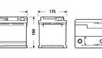 Baterie de pornire AUDI Q7 (4L) (2006 - 2015) EXID...