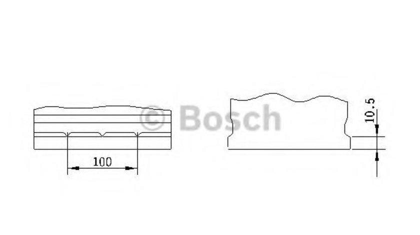 Baterie de pornire KIA MAGENTIS (MG) (2005 - 2016) BOSCH 0 092 S40 260 piesa NOUA