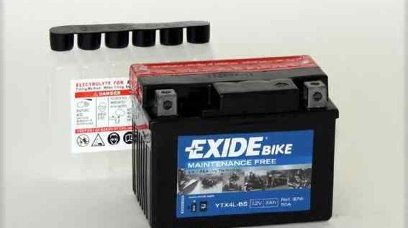 Baterie de pornire KTM MOTORCYCLES SUPERMOTO Producator EXIDE YTX4L-BS