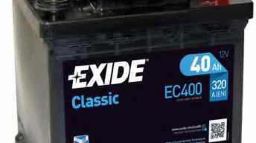 Baterie de pornire MICROCAR VIRGO EXIDE EC400