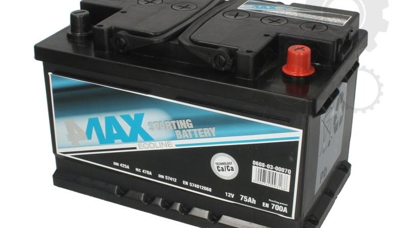 Baterie de pornire PEUGEOT J5 Autobus 280P Producator 4MAX 0608-03-0007Q