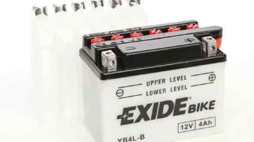 Baterie de pornire PGO MOTORCYCLES G-MAX Producator EXIDE YB4L-B