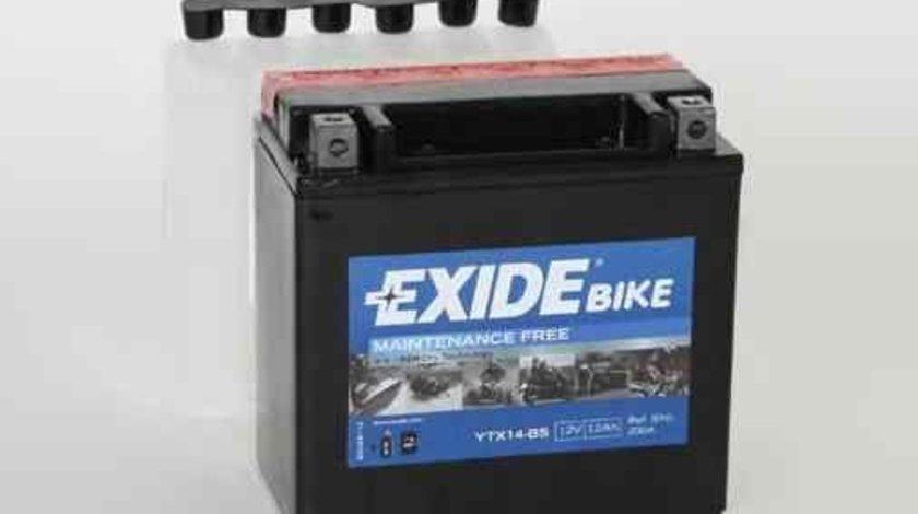 Baterie de pornire PIAGGIO MOTORCYCLES X7 Producator EXIDE YTX14-BS